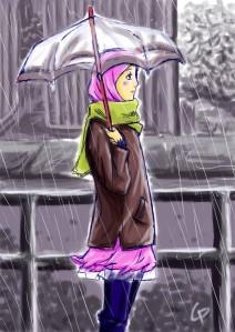Tak ada yang salah dengan hujan