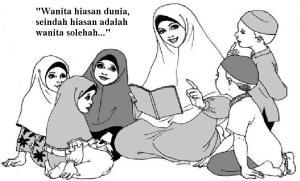 Wahai ikhwan pilihlah calon ibu bagi anak kaliah seorang wanita sholeha Plus berpendidikan