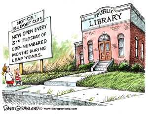 Gedung perpustakaan: Tak seindah koleksinya