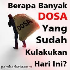Menghitung Dosa